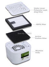 2015 popular air purifier for home usage,one touch intelligent operation,super silence(China (Mainland))