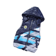 2016 New Arrival Boys Vests Coats High Quality Children's Clothing Outerwear Casual Thick Hooded Waistcoats Boy Vest Coat MJ03
