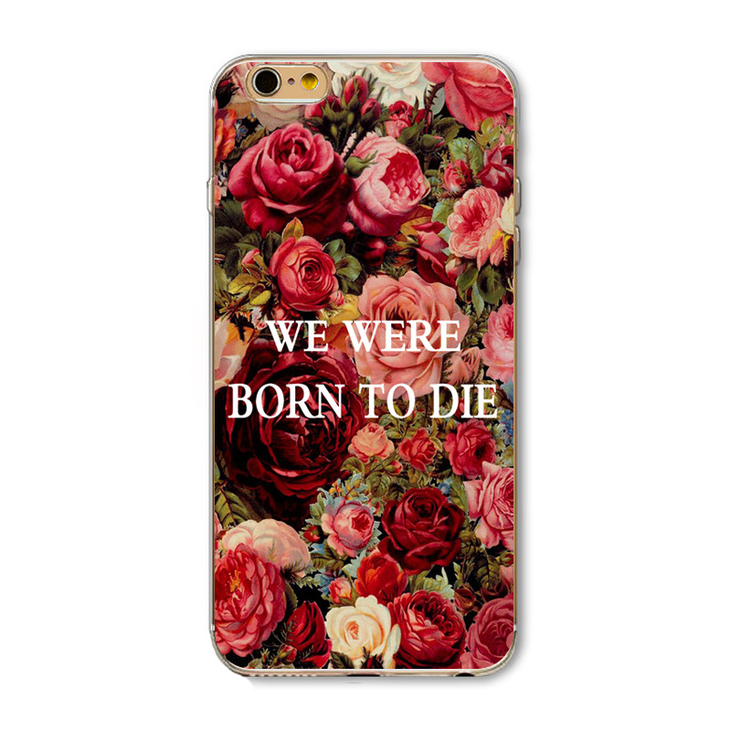 New Arrival Cases For iPhone 4 4S 5 5S 5C 6 6S 6Plus 6s Plus Soft Silicon TPU Cover Beautiful Tower Scenery Sky Flower Patterns