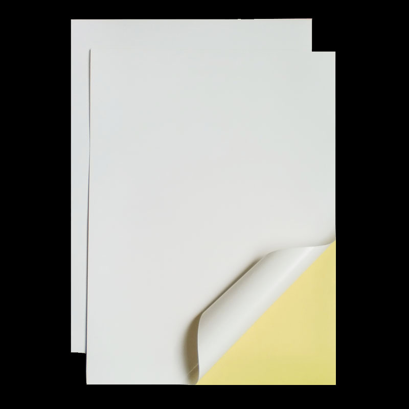 20 Pcs A4 210mm X 297mm Off White Self Adhesive Sticker Paper Easy Peeling For Ink Jet Printer(China (Mainland))