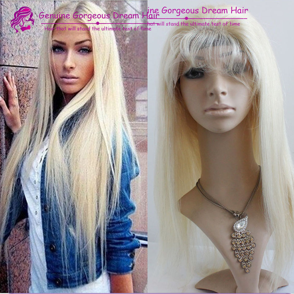 Unprocessed virgin cheap human hair brazilian lace front nicki minaj style #613 blonde affordable full lace wigs with baby hair<br><br>Aliexpress