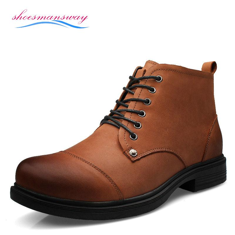 best winter shoe boots designer mens leather boots