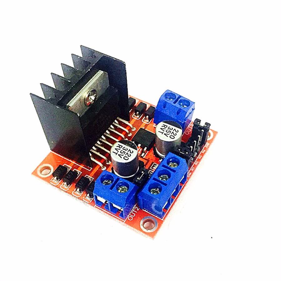 L298 stepper motor driver schematic for Stepper motor vs servo