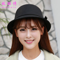 Autumn Winter Ladies Woolen Hat Billycock New Elegant Bowknot Dome Female Dicer Cloche Women s Bow