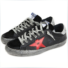 New Hot Sale GOLDEN GOOSE Italy Korea by hand Genuine Leather Flat Lace Breathable Men's and women's casual shoes G23U590 – N1