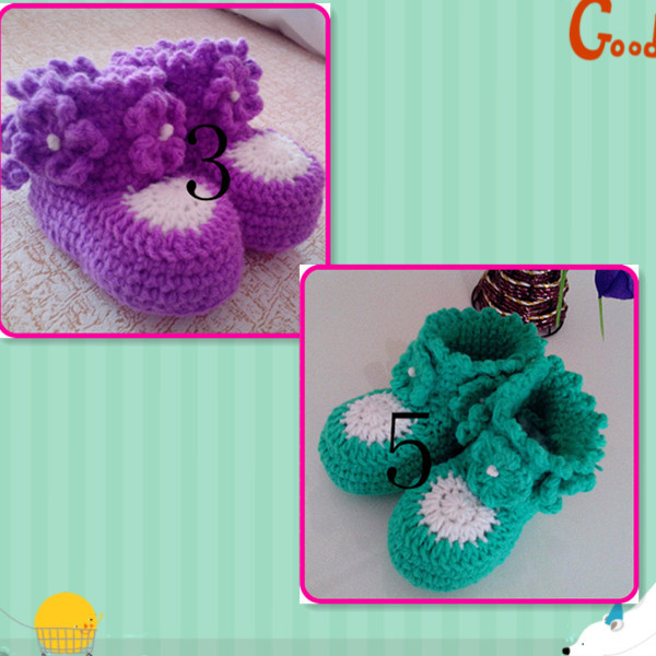 Free Crochet Patterns For Girl Booties : Crochet Baby Girl Shoes Free Patterns