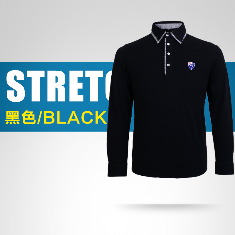 Brand pgm 2015 top quality men s casual polo shirts quick for Name brand golf shirts