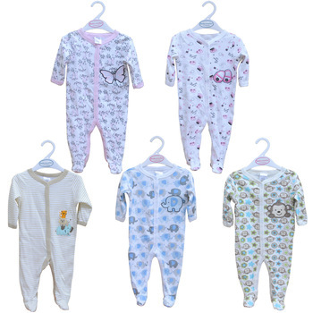 Children Pajamas Newborn Carter Babywork Baby Clothes Romper Animal Infant Cotton Long Sleeve Jumpsuit Unixes Spring Autumn Wear(China (Mainland))
