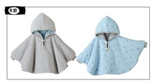 New 2016 Fashion Combi Baby Coats boys Girl s Smocks Outwear Fleece cloak Jumpers mantle Children
