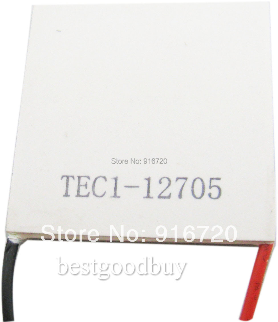 40mm x40mm TEC1-12705 TEC Thermo Electric colling Thermoelectric Peltier Cooler(China (Mainland))