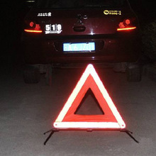 New Foldable Reflective Triangle Warning Sign Car Hazard Road Emergency Breakdown Board(China (Mainland))