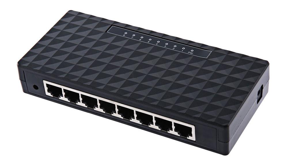 New DIEWU DW - 8370 - T8 8 Ports 1000M High Speed Poe Switch Mini Desktop Ethernet Gigabit SwitchDesktop Ethernet Network Hub(China (Mainland))