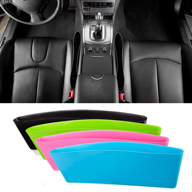 1pc New Car Seat Gap Storage Box Car Styling Hot Sale Universal Car Interior Accessories Storage Organizer Pockets(China (Mainland))