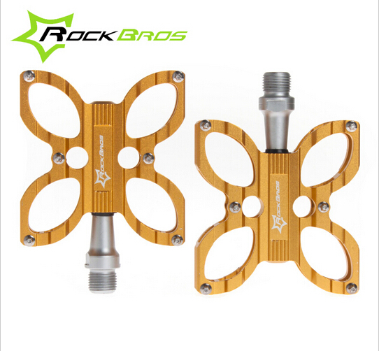 Rockbros Mountain Bike Bicycle Pedals 9/16 MTB BMX DH Platform Pedals<br><br>Aliexpress