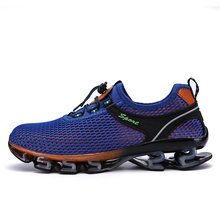 Herren Atmungsaktive Laufschuhe Frauen Sneakers Bounce Sommer Outdoor Sportschuhe Professionelle Trainingsschuhe dIwopVI