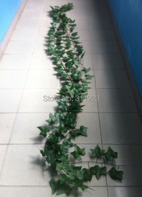 High quality silk ivy vine Wall decoration leaves artificial ivy vines(China (Mainland))