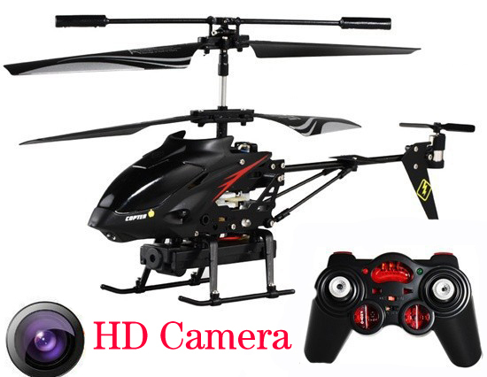 Remote Control Helicopter With Video Camera 3.5 CH RC Drone with H...