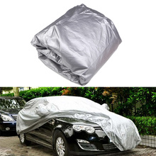 Universal Full Indoor Outdoor Car Cover Sunshade Sunscreen Car Clothes Dustproof Anti-UV Scratch-Resistant L XXL(China (Mainland))