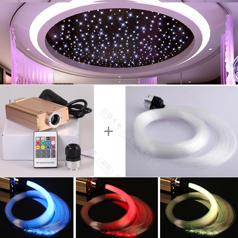 PMMA Plastic optic fiber Starry star light for ceiling decoration Jean Max DUBARD(China (Mainland))