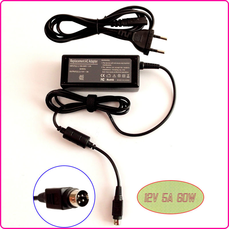 """For Benq FP992 Q9U3 19"""" LCD monitor Laptop Ac Adapter Charger Power SUPPLY 12V 5A 4-Pin(China (Mainland))"""