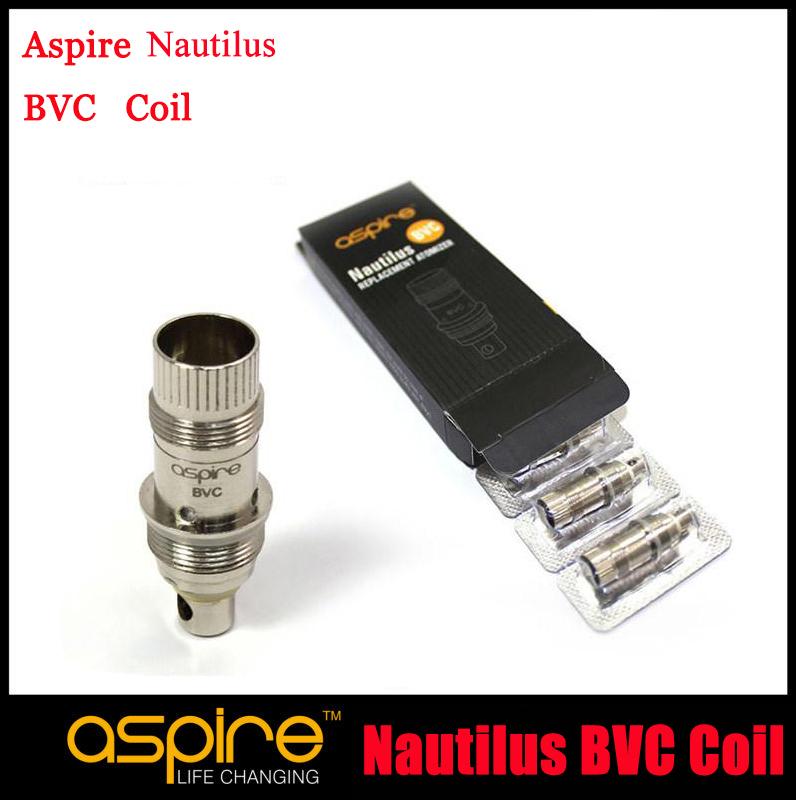 20pc/lot Aspire Nautilus BVC Coil Aspire Nautilus Bottom Vertical Coil Aspire BVC Coil 1.8/1.6ohm For Mini Nautilus/Nautilus