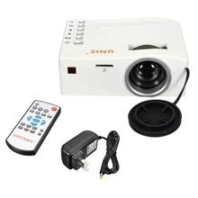 UNIC UC18 Mini Projector with HDMI TF Card USB CVBS LED proyector for Home theater Cinema Pico(China (Mainland))