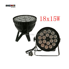 Buy , 2pcs Eyourlife New 18X15W RGBWA 5IN1 LED Par Can Light Strobe DMX Stage Bar DJ Disco Lighting Party Lighting 5/9CHs for $156.00 in AliExpress store
