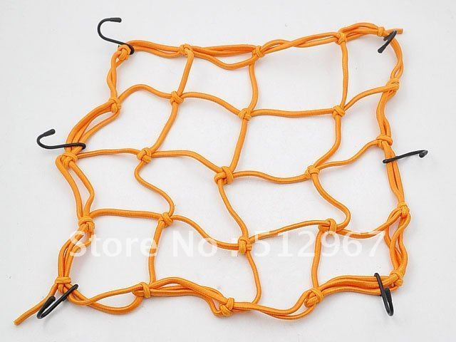 Wholesales Motorcycle Bike Equipment Cargo Luggage Mesh Bungee Net free shipping NET-103