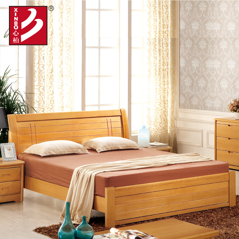 wooden home furniture,beech wood bed,bedroom sets,double bed design  furniture ...