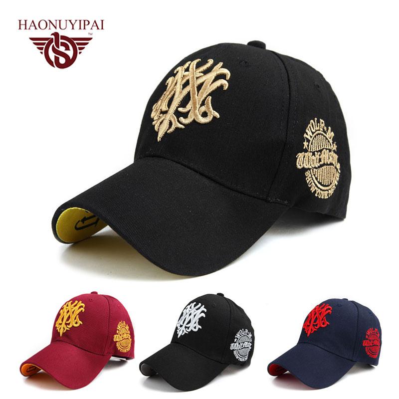 New Style Casual Embroidery Baseball Cap Hockey Hats For Women Men Polo Hat Snapback Hats Motorcycle Trucker Cap Bone 4Colors(China (Mainland))