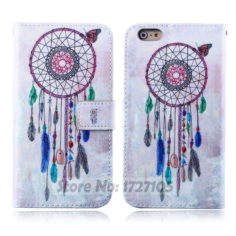 New hot sell cute rose animal case for iphone 5 flip leather case for iphone 5s cartoon bird case for 6plus free shiping(China (Mainland))