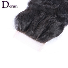 3 Bundles Brazilian Virgin Hair Weft Body Wave With Closure 6A Human Hair Bundles Weave Wavy