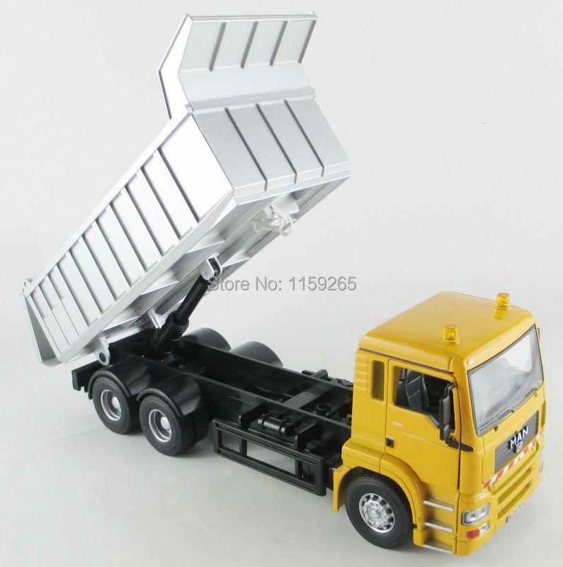 1:32 scale Diecast Man Dump Truck(China (Mainland))