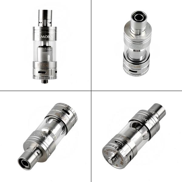 ถูก S MOK TFV4ถังฉีดน้ำชุดที่เรียบง่าย5มิลลิลิตรความจุTFV4 Vaporizerสเปรย์มอระกู่อิเล็กทรอนิกส์ที่มีTF-T3ขดลวดบุหรี่อิเล็กทรอนิกส์