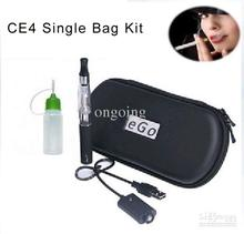 Ego CE4 Kit Electronic Cigarette Starter Kit Ecig E-Cigarette Zipper case 1 Atomizer 1 Battery 650mah 900mah 1100mah