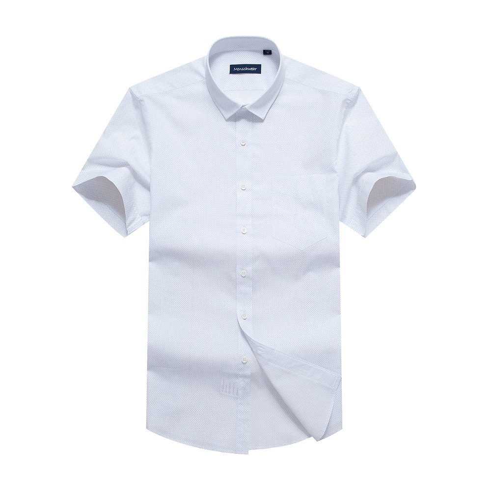 Free shipping 2013 new cotton men s shirts short sleeve for Mens short sleeve white dress shirt
