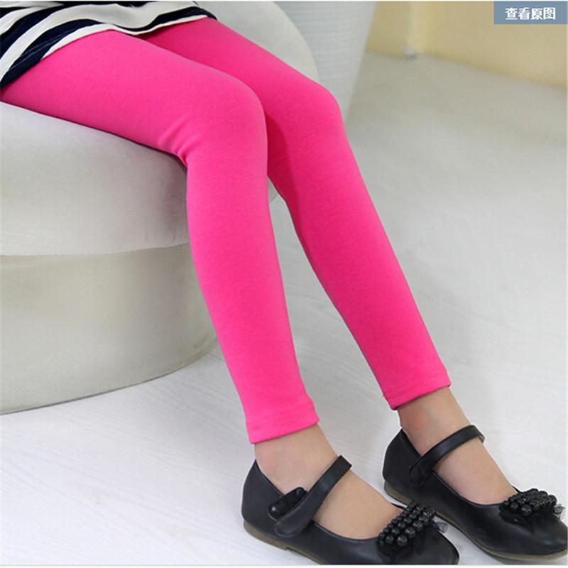Hot selling 2015 girl pants baby girl leggings kids cotton fashion legging children clothing autumn pant girls' leggings enfant(China (Mainland))