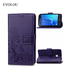 Buy EVOLOU Retro Butterfly Leather Case Samsung Galaxy J1 6 Sm-j120f J1 2016 DS 4.5 Flip Wallet Cover J120f J1, 2016 Phone Bag for $3.38 in AliExpress store