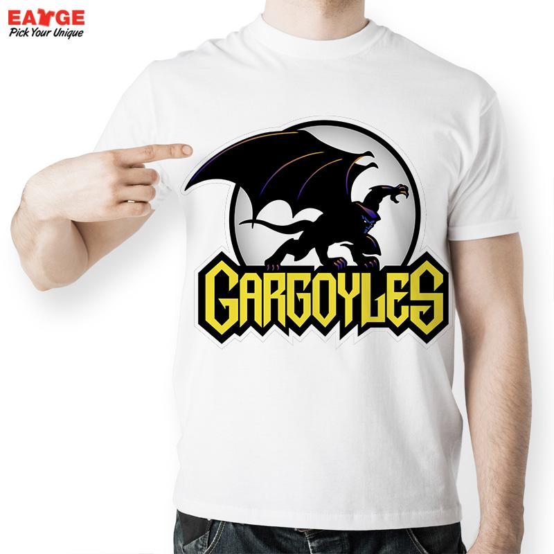 EATGE Anime Cartoon Funny T Shirts Cool Fashion Summer Style Brand T shirts Gargoyle US