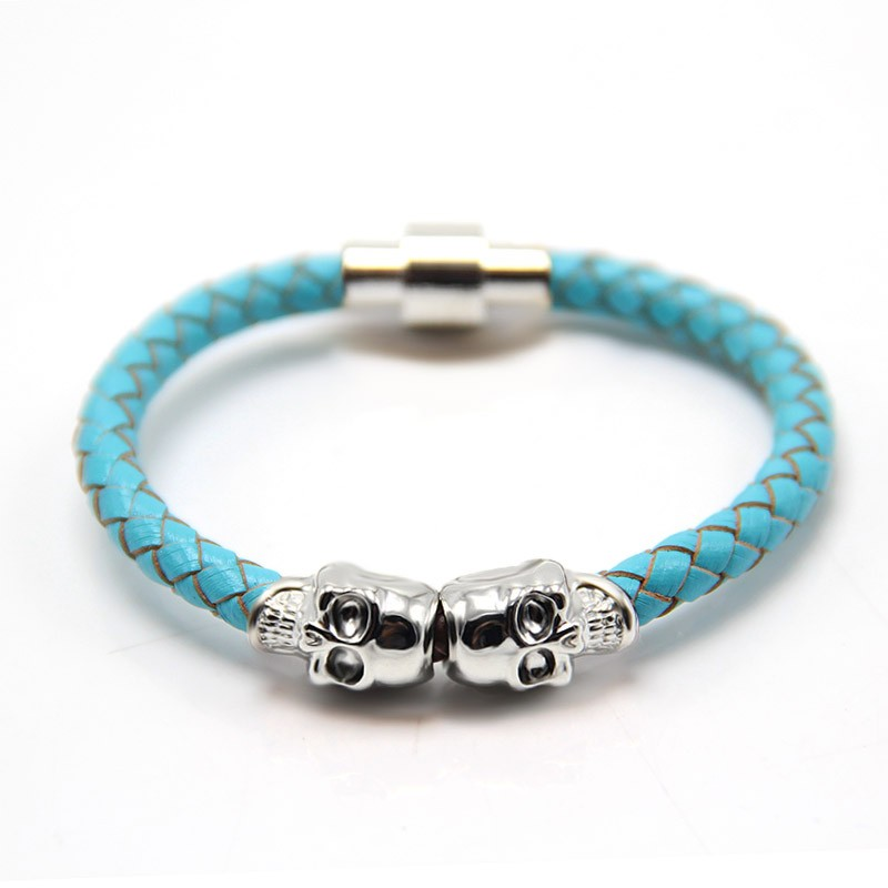 Hipanema Bracelet Woven Brazilian Style Jewelry Magnetic Clasp Bohemian Bule bracelet For summer free shipping