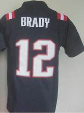 Cheap Color Rush 11 Julian Edelman 12 Tom Brady 87 Rob Gronkowski 10 Jimmy Garoppolo Blue Red White Embroidery Free Shipping(China (Mainland))