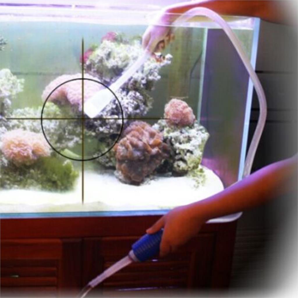 hot Mini Fish Hose Tank Filter Gravel Cleaner Vacuum Pump Water Changer Siphon Aquarium(China (Mainland))