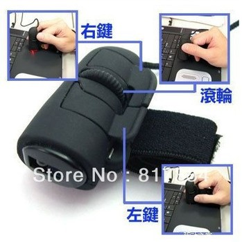 USB Computer finger mouse lazy thumb rings the mouse 3D Optical computer accessories mouse