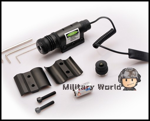 JG 10 532nm 35mW Airsoft Tactical Military Army Green Dot Laser Sight Scope 20mm Weaver Rail