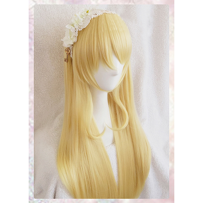 New design Eli Ayase long perruque wig Love Live! LoveLive! Ayase women girl golden yellow anime cosplay wigs synthetic hair<br><br>Aliexpress