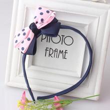 Sweet Style Headwear  Baby  Cute Tie Hair Accessories Children  Bowknots Hairwear  Girls & Women Cute Ribbon Bow Hairbands