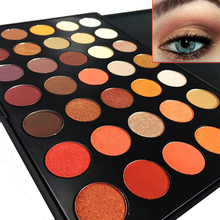350 Palette 35 Color Eyeshadow Earth Warm Shimmer Matte Eye Shadow Cosmetic Beauty Makeup Set - At All Age store