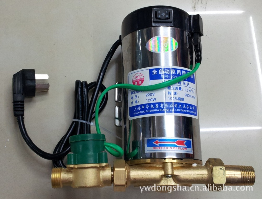 Full automatic household booster pump domestic water heater booster pump water booster pump pipeline booster pump<br><br>Aliexpress