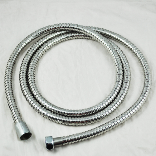2M New Flexible Standard Stainless Steel Chrome Shower Head Bathroom Hose Pipe(China (Mainland))
