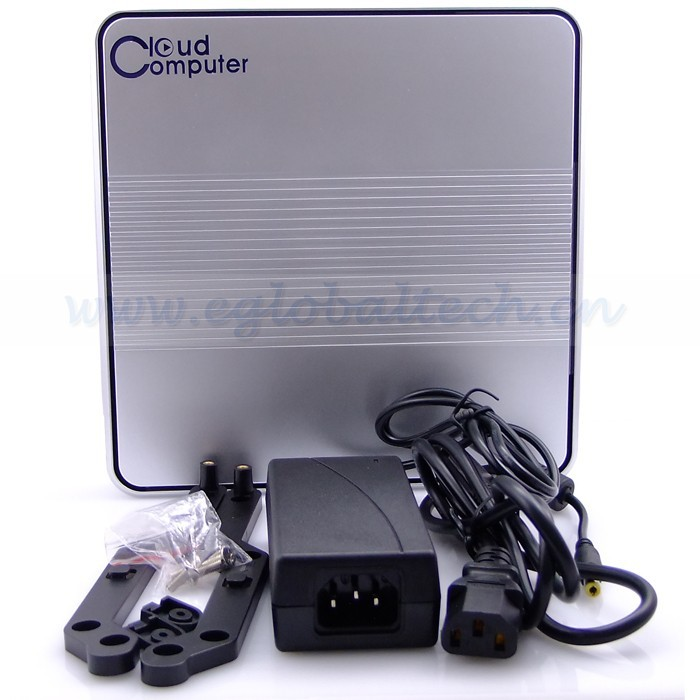 2GB RAM 1TB HDD D2500 Intel Atom Mini PC Windows Nettop PC Back of Monitor as All in One PC Free Shipping DHL EMS Fedex UPS Cost(China (Mainland))